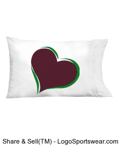 Heart Pillow Design Zoom