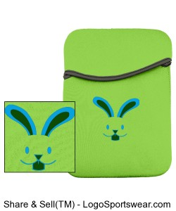 iPad Bunny Case Design Zoom